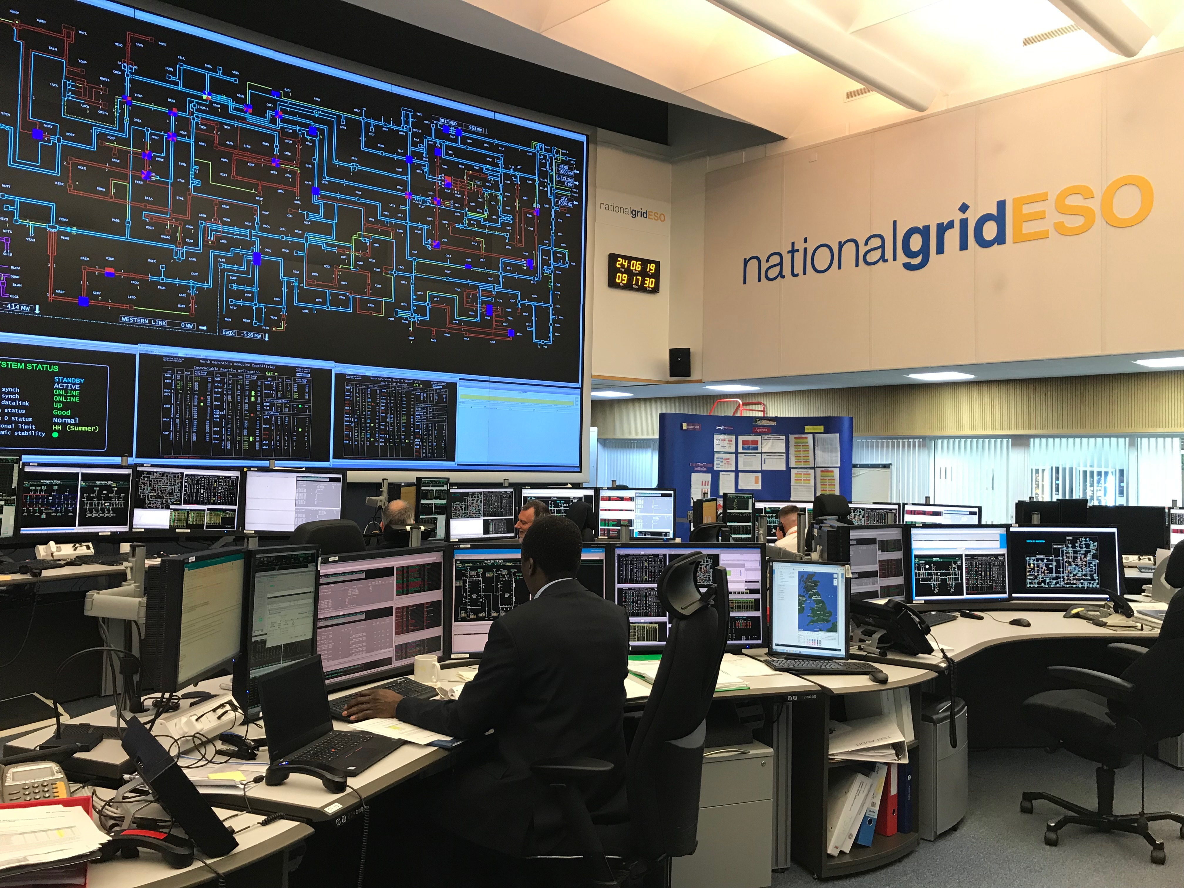 National Grid ESO - Electricity Control Centre 1