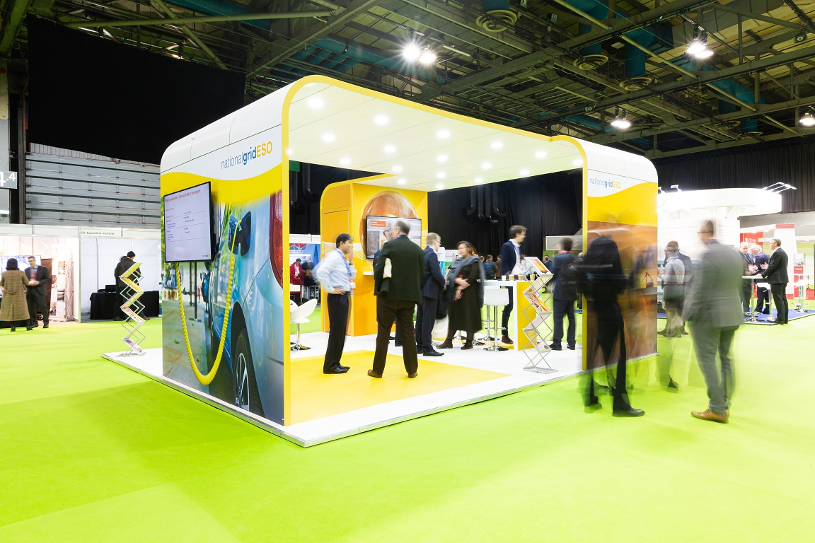 National Grid ESO exhibition stand