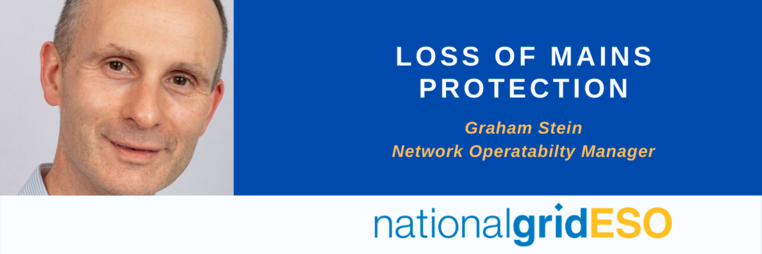 Graham Stein National Grid ESO - Loss of mains