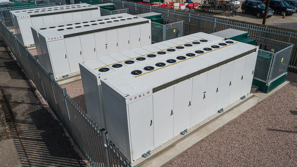 National Grid ESO - battery storage