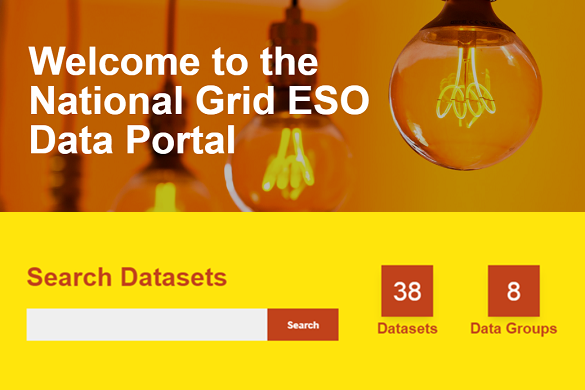 National Grid ESO - data portal